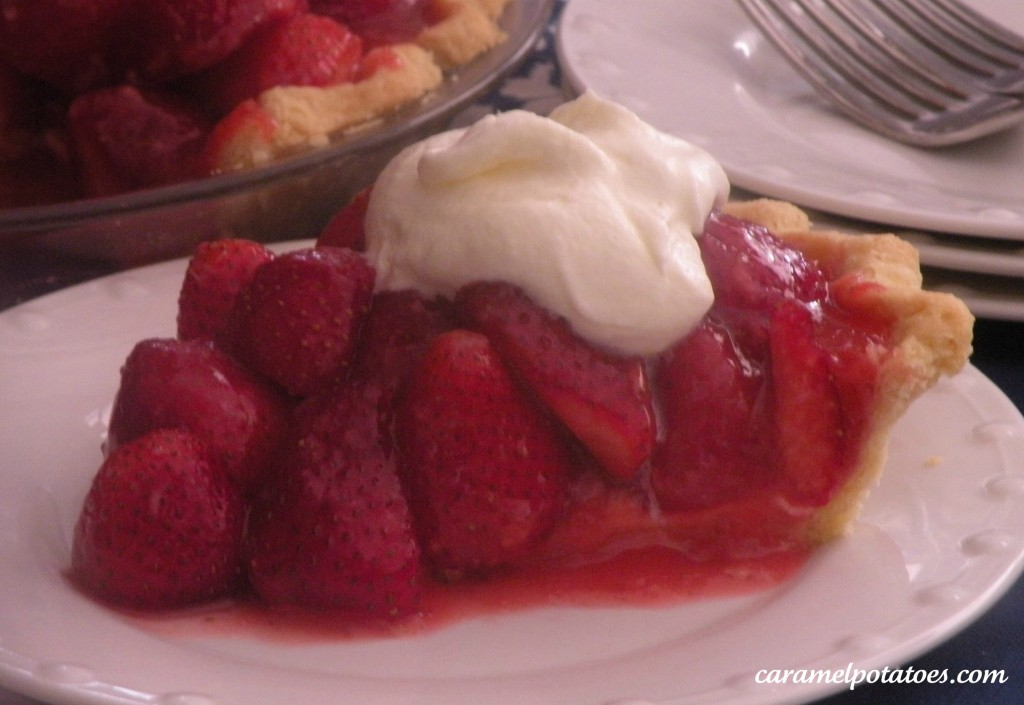 Caramel Potatoes » Fresh Strawberry Pie