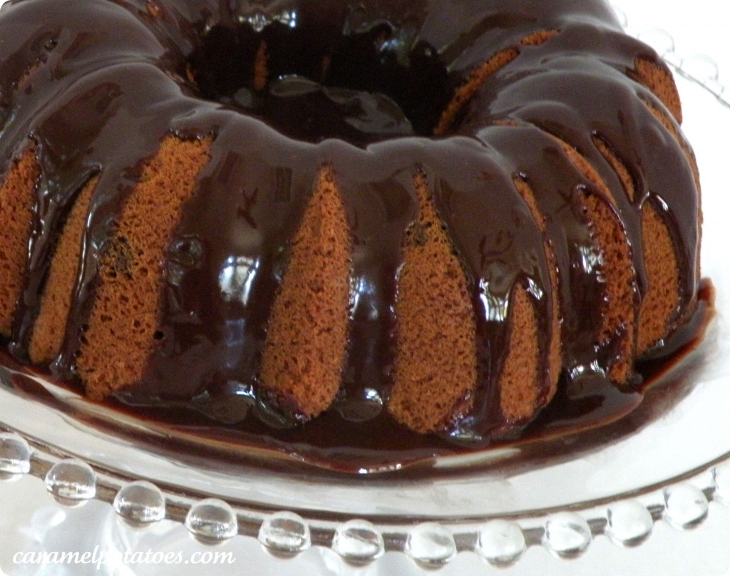 Caramel Potatoes » Chocolate Chip Bundt Cake