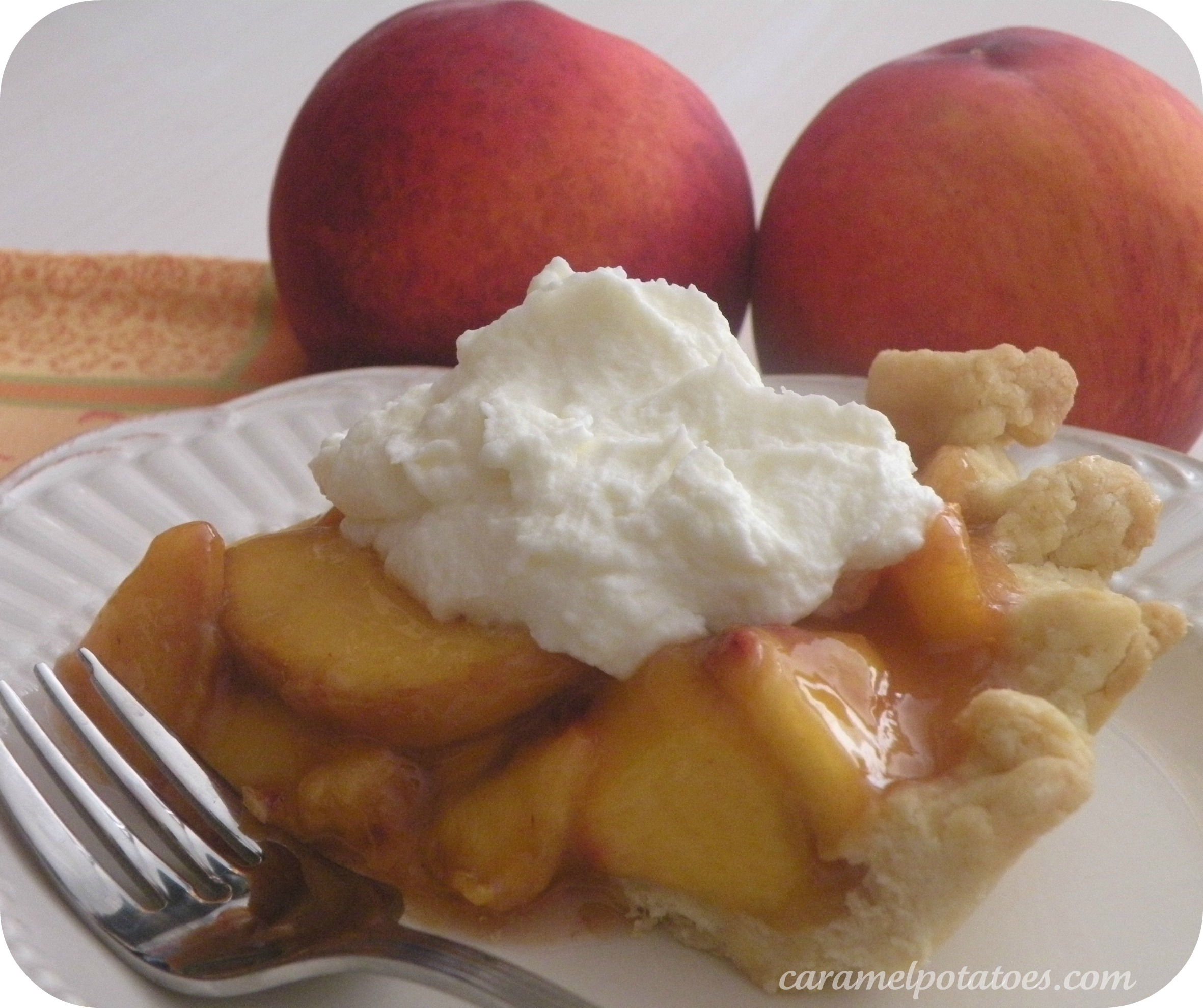 Caramel Potatoes » Fresh Peach Pie