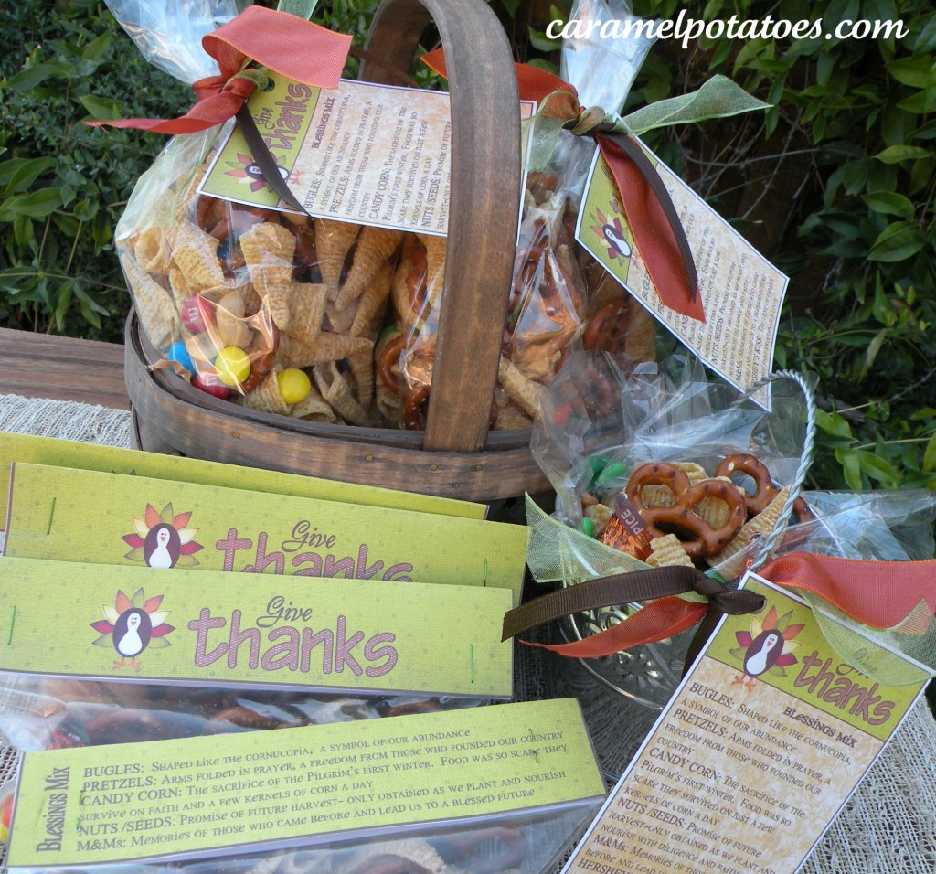 Caramel Potatoes » Thanksgiving Blessings Mix (and ...