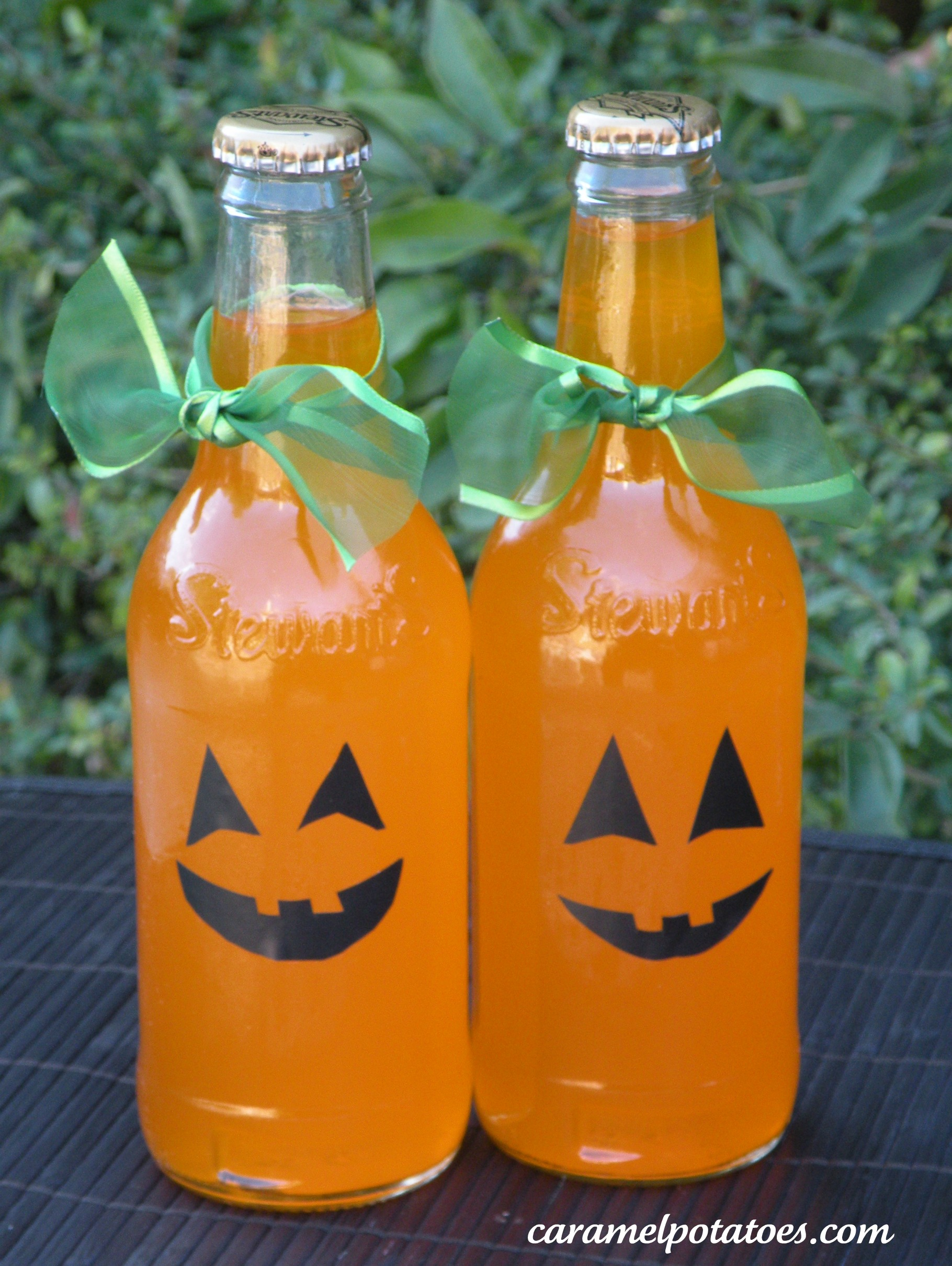 orange soda halloween style - Pictures That Say Happy Halloween