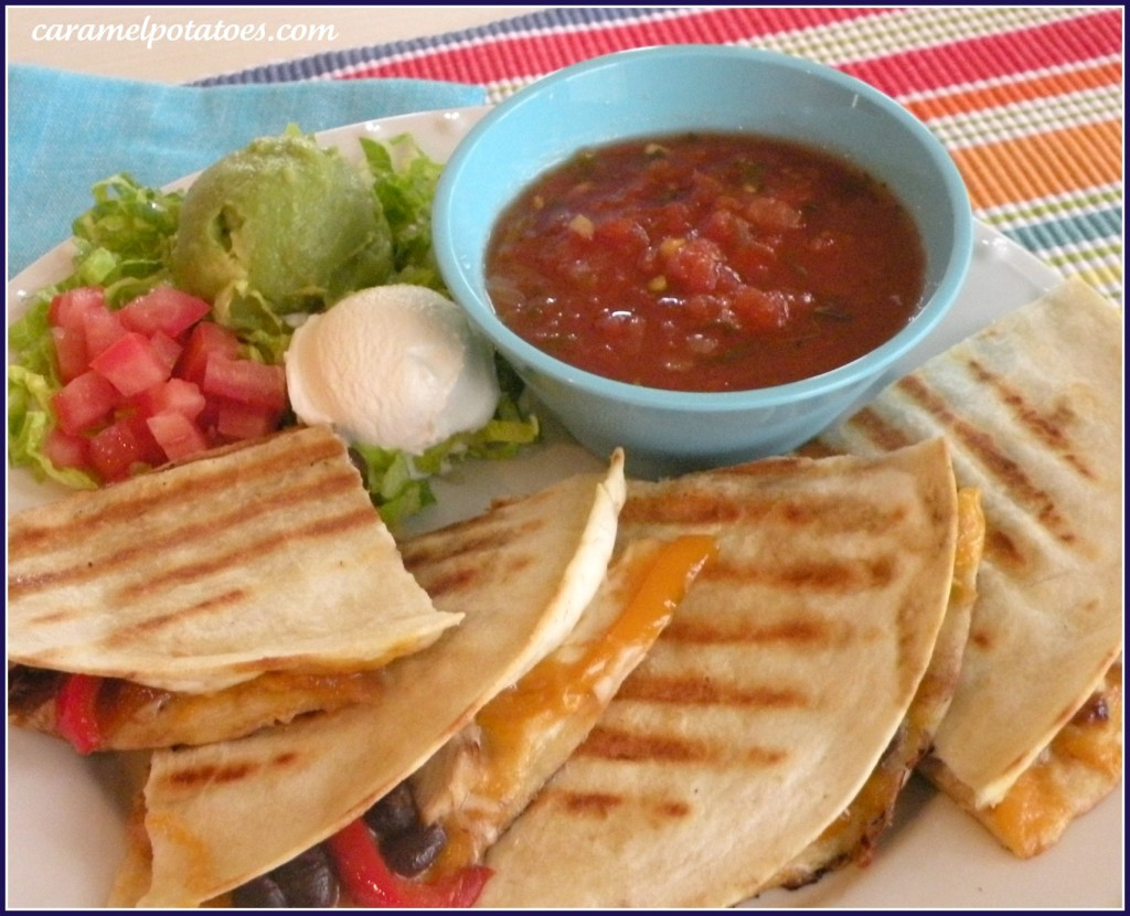 how to make quesadillas mexican style