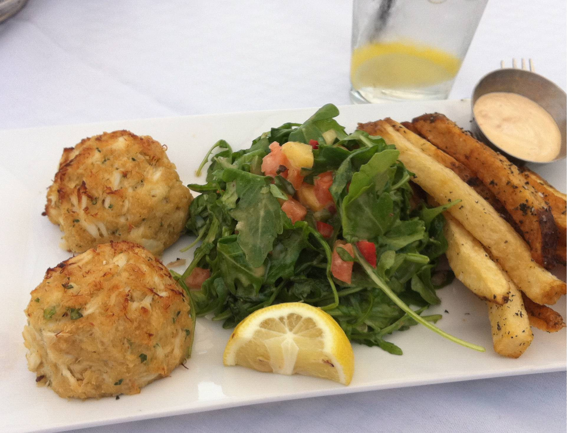 ... , how could you visit Baltimore without Crab Cakes for lunch