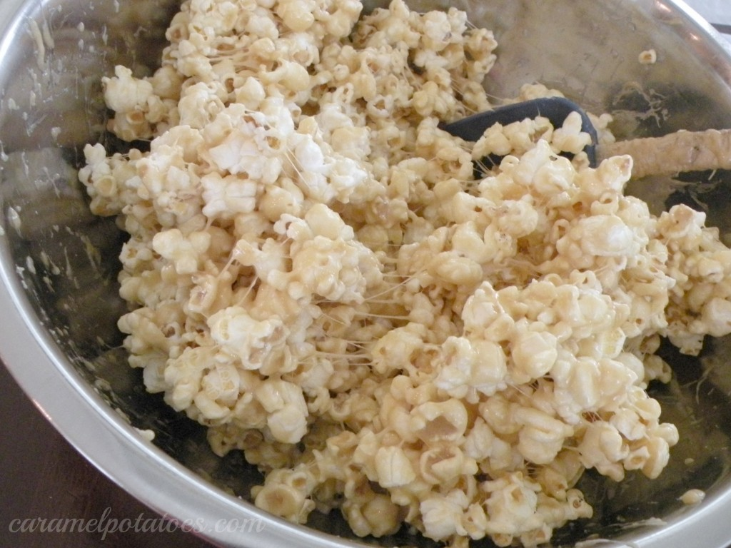 how to make caramel popcorn balls