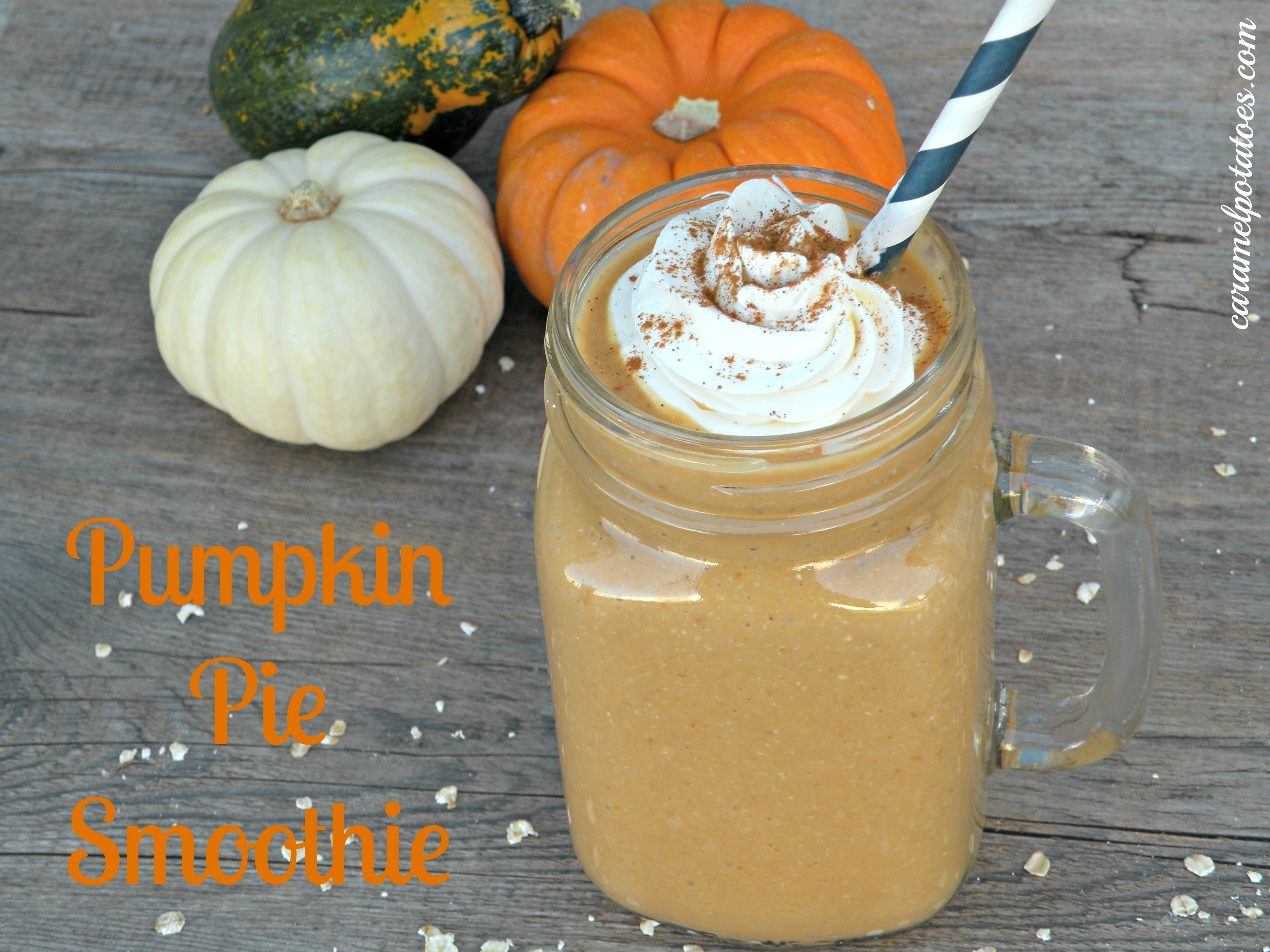 Caramel Potatoes » Pumpkin Pie Smoothie