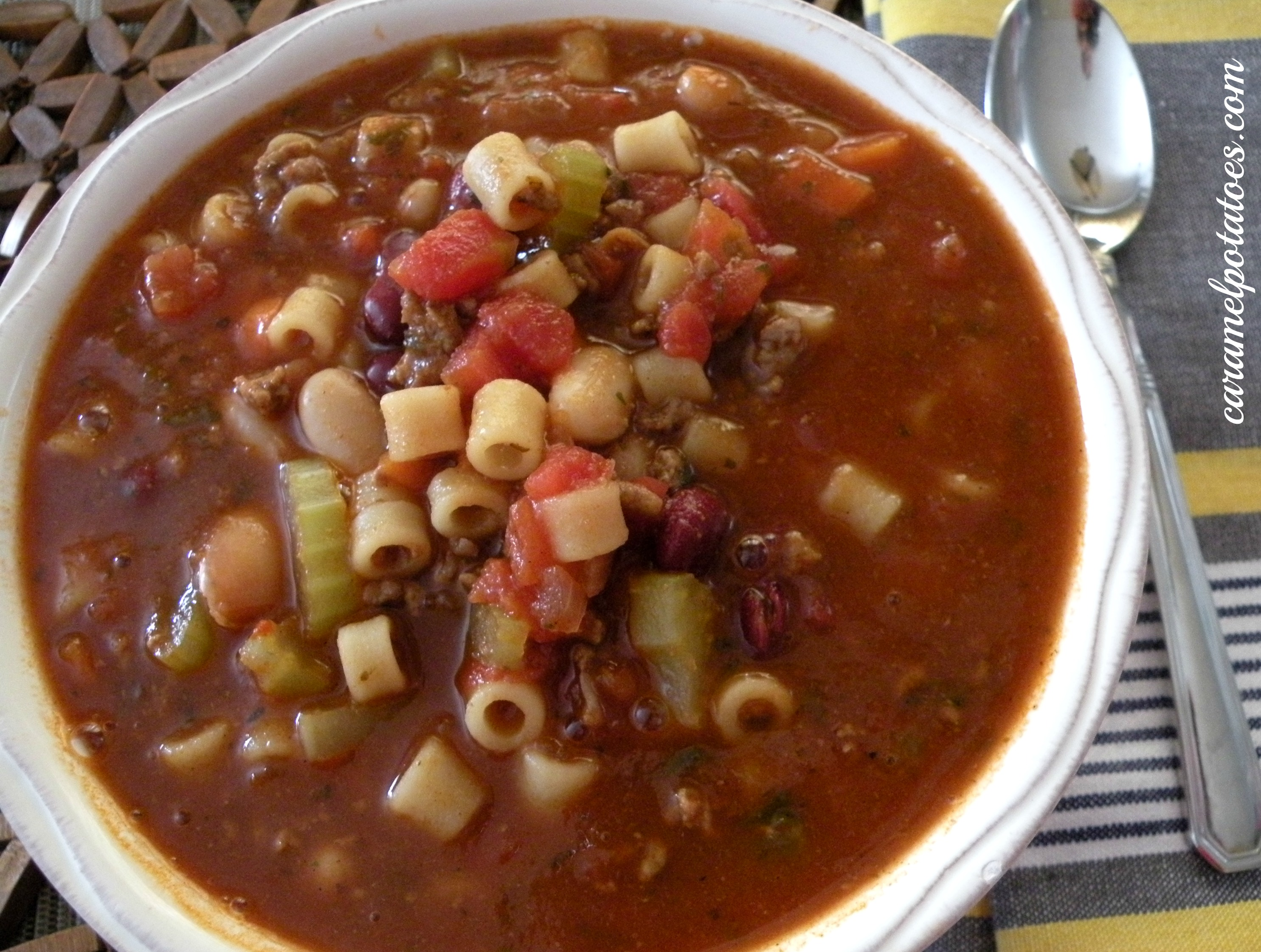 Pasta E Fagioli Recipe — Dishmaps