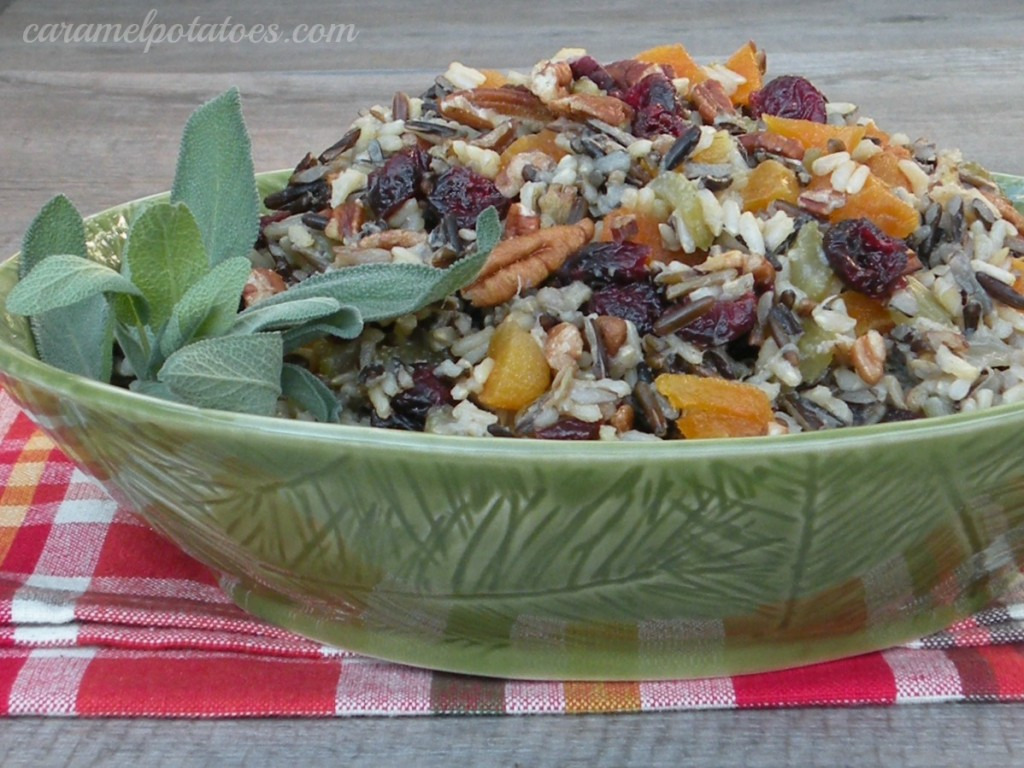 Caramel Potatoes » Wild Rice Stuffing