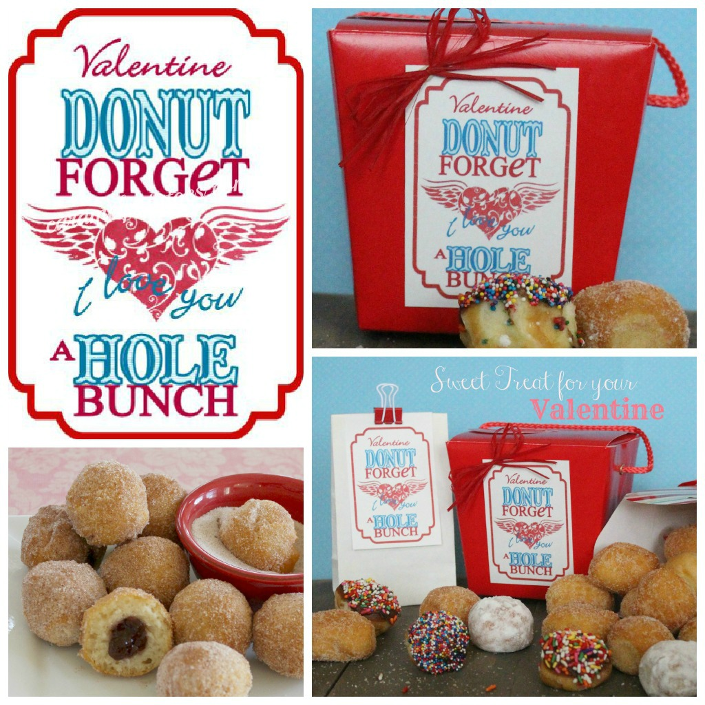 Doughnuts For My Valentine Recipes — Dishmaps