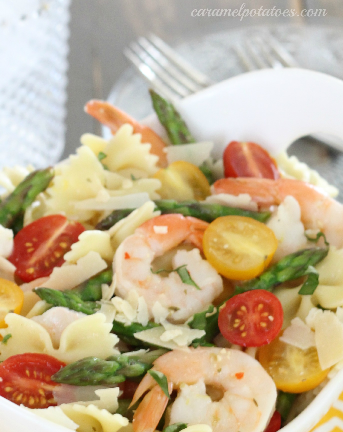 Caramel Potatoes » Shrimp Pasta Salad