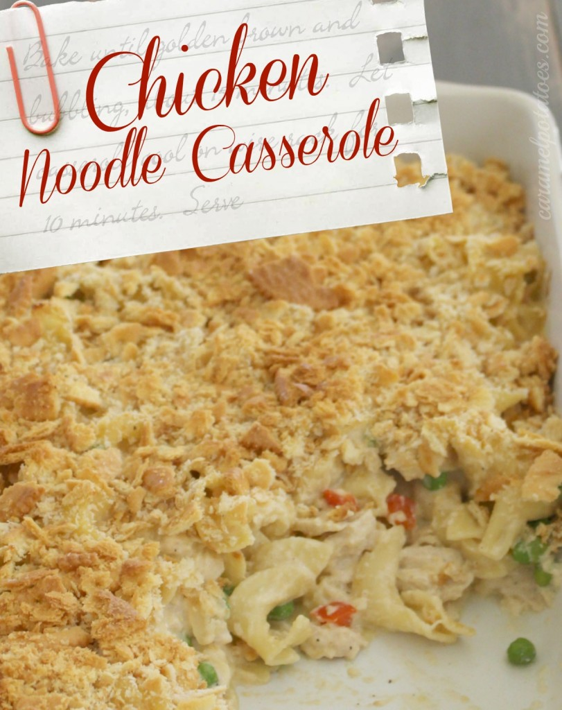 how to make chicken casserole with egg noodles