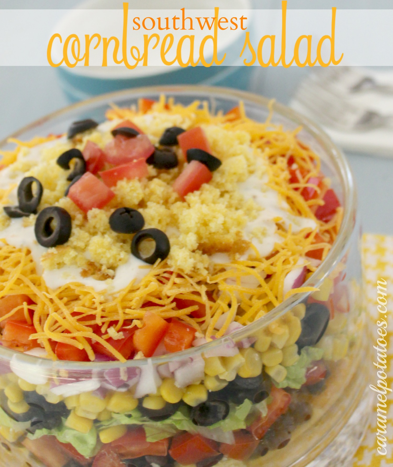 ... salad southwestern chicken and ranch chicken salad southwest cornbread
