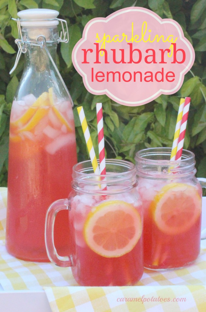 Rhubarb & Strawberry Lemonade Recipes — Dishmaps