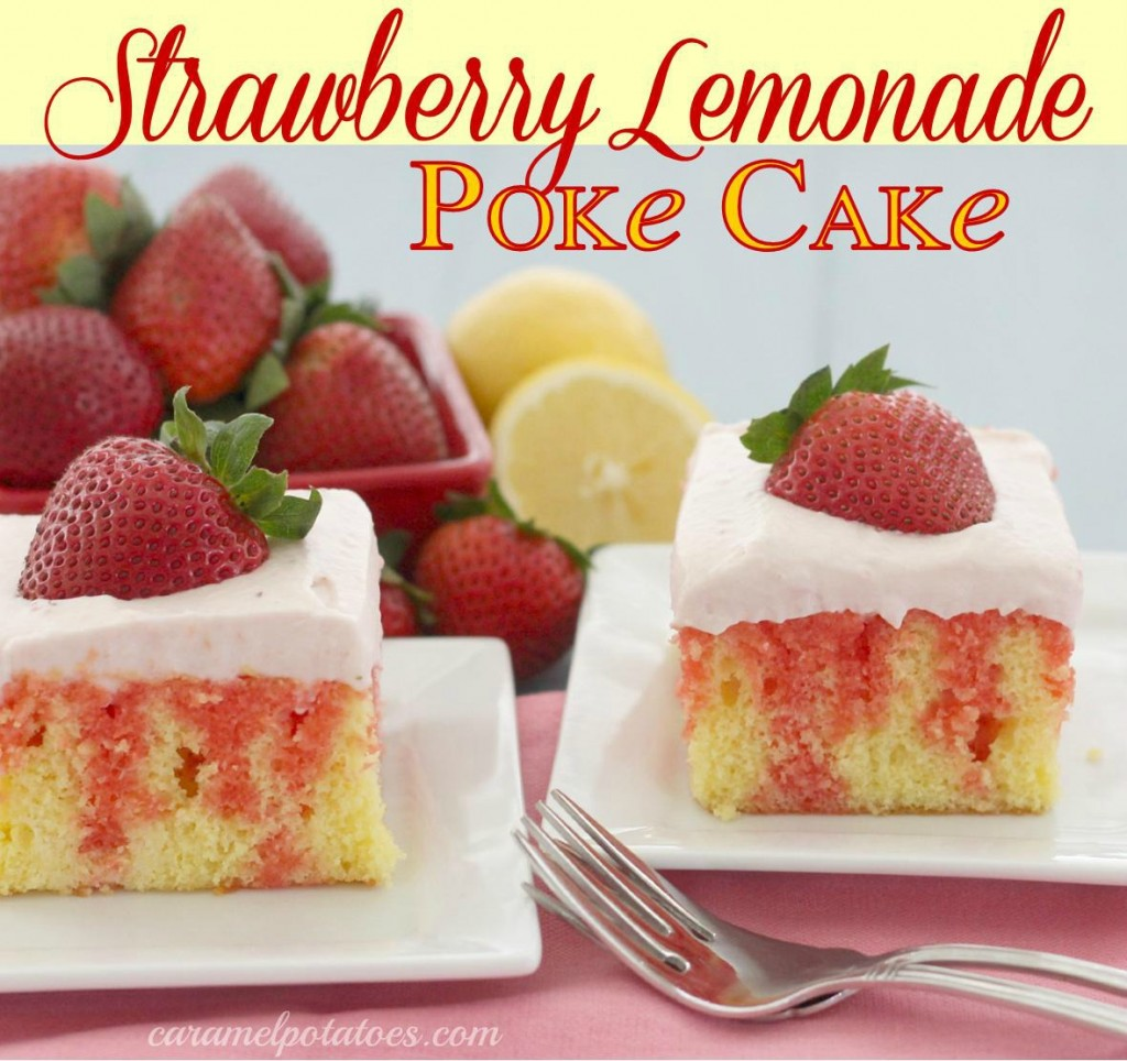 Strawberry Lemonade Cake Mix