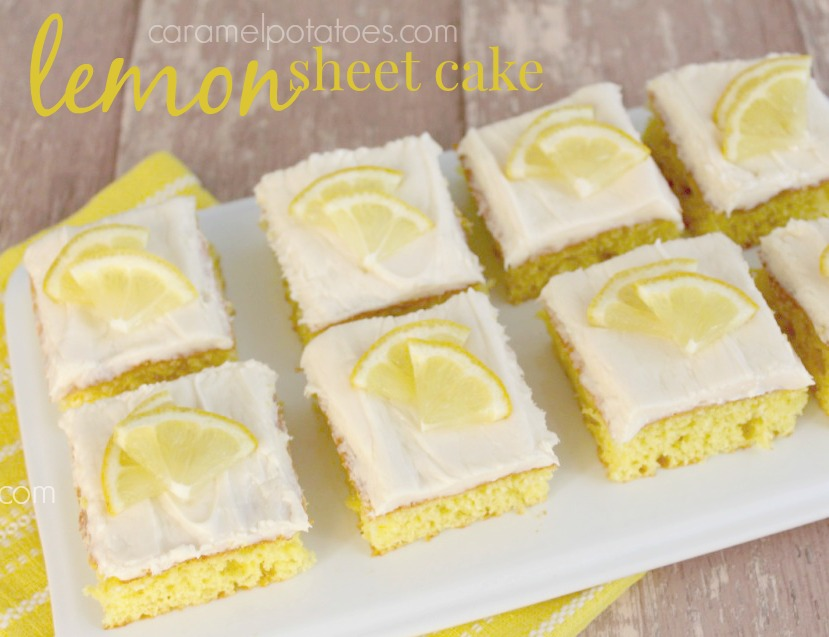 Lemon sheet cake recipes from scratch