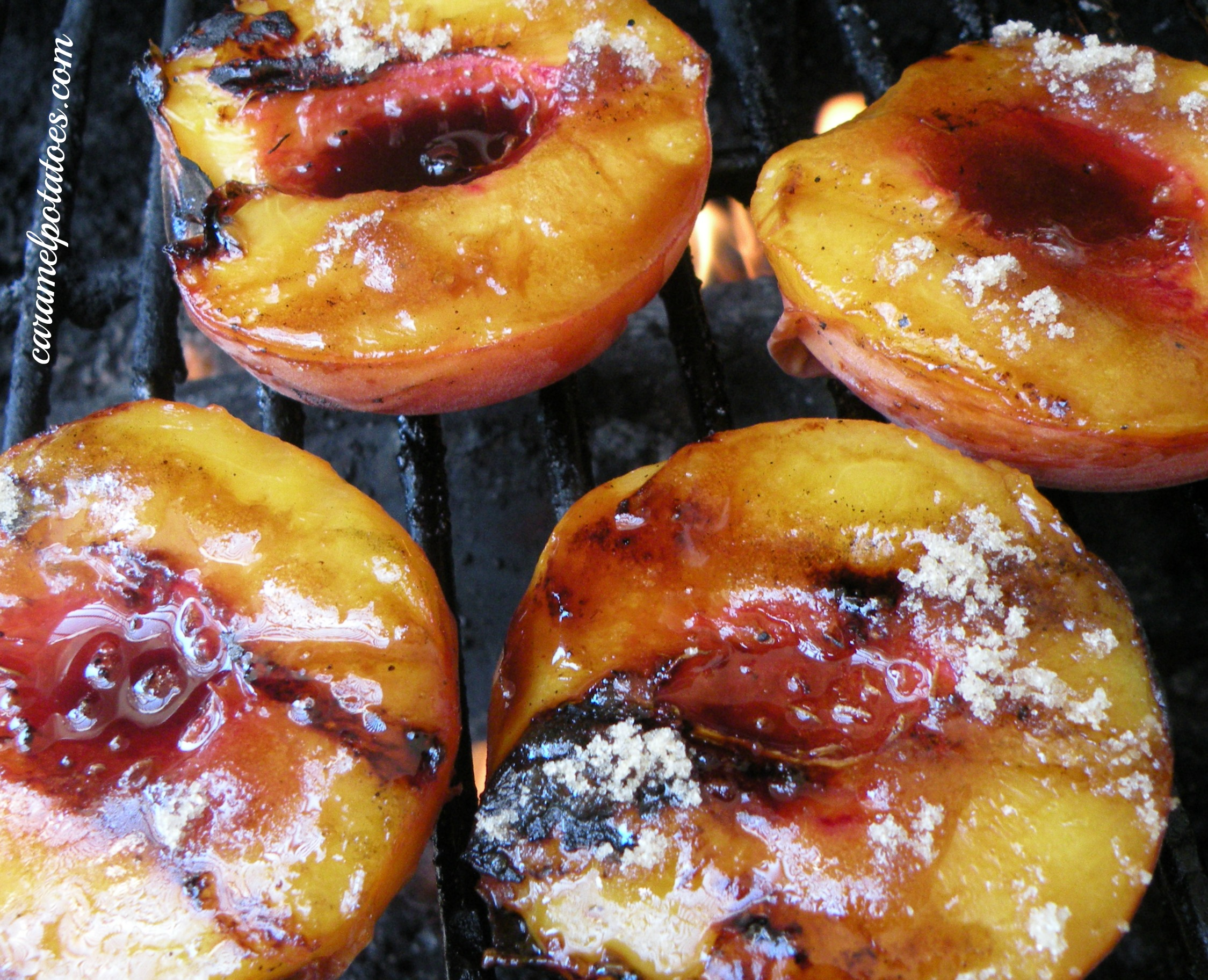 Grilled Peaches . One of the simple pleasures of summer – peaches ...