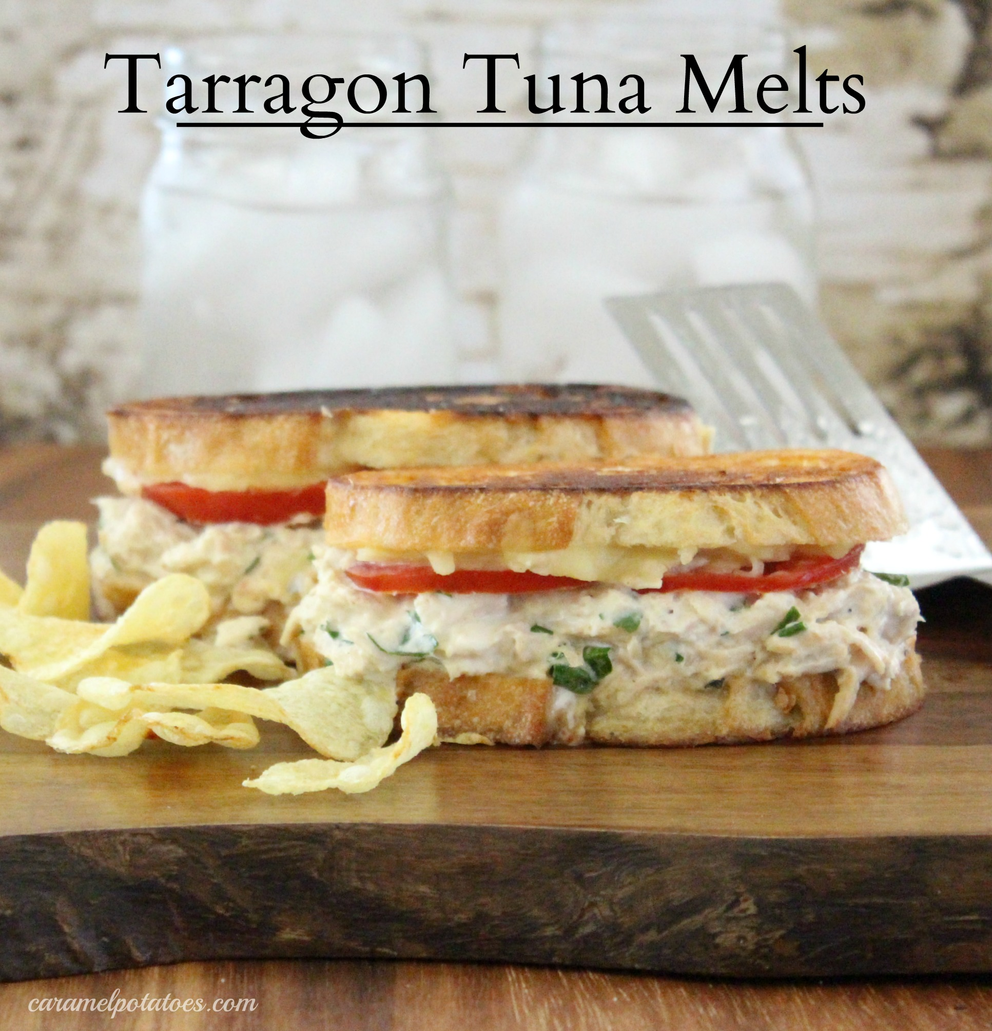 Caramel Potatoes » Tarragon Tuna Melts
