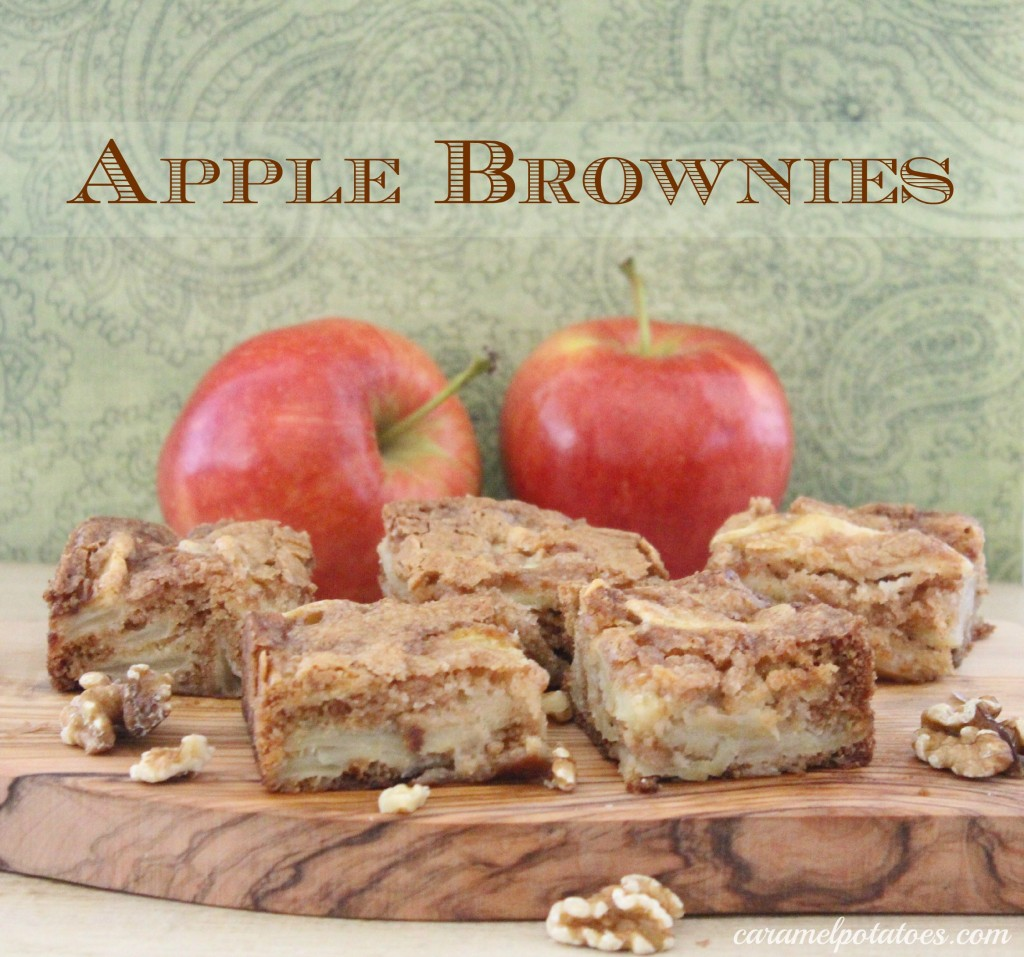 Apple Brownies Recipe — Dishmaps