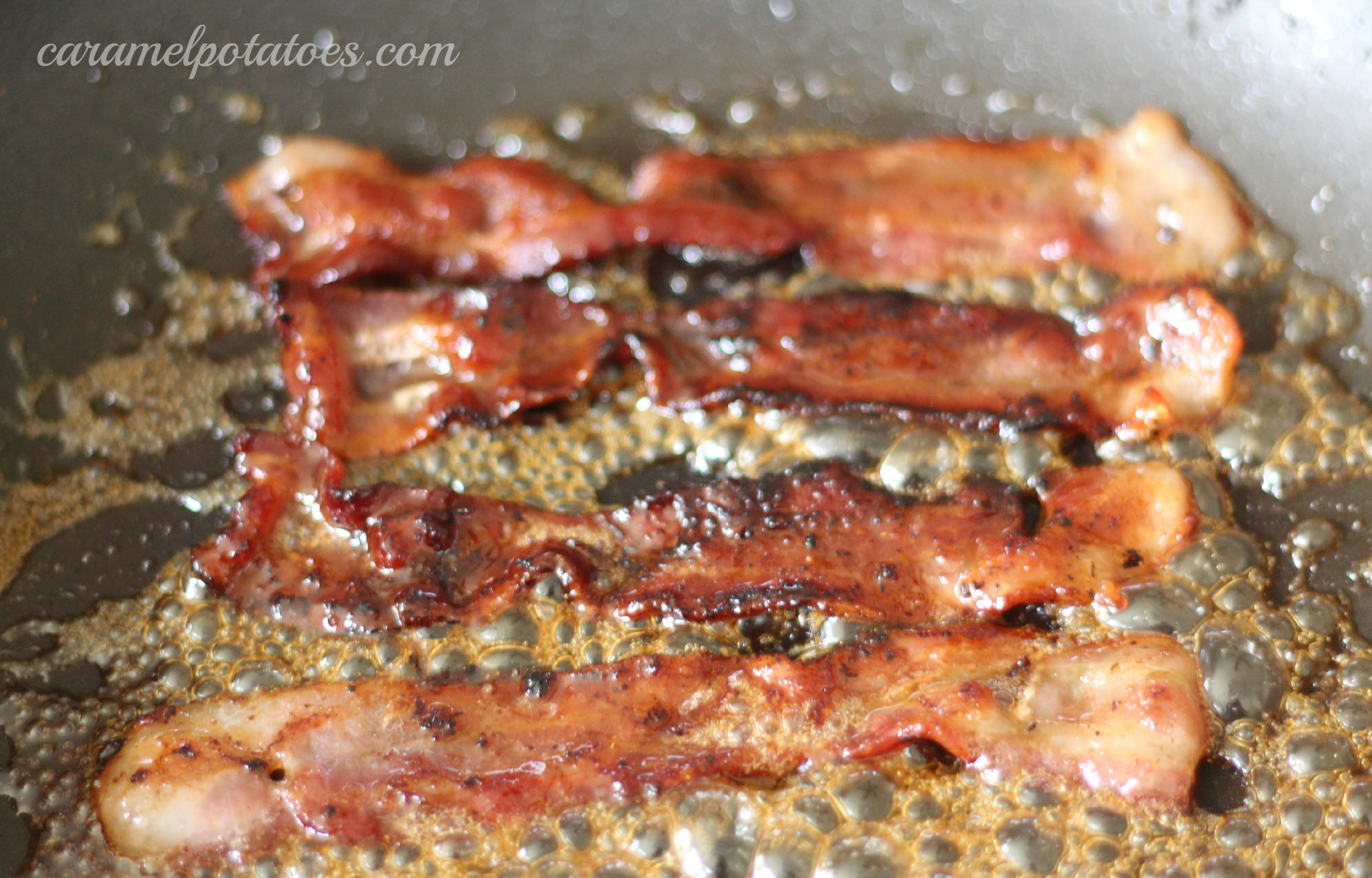 Sweet and Spicy Caramelized Bacon