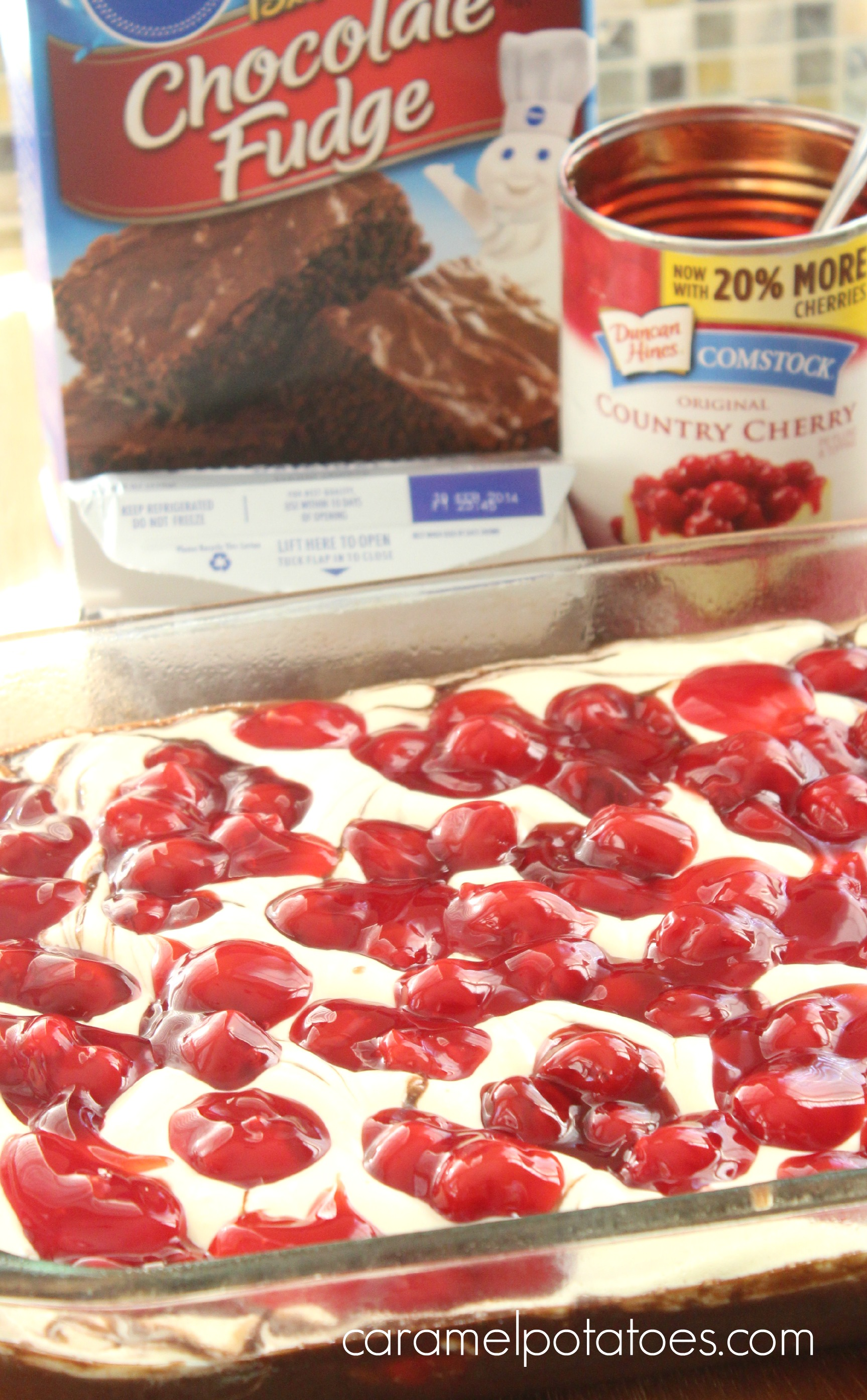 how to make cherry pie filling with flour