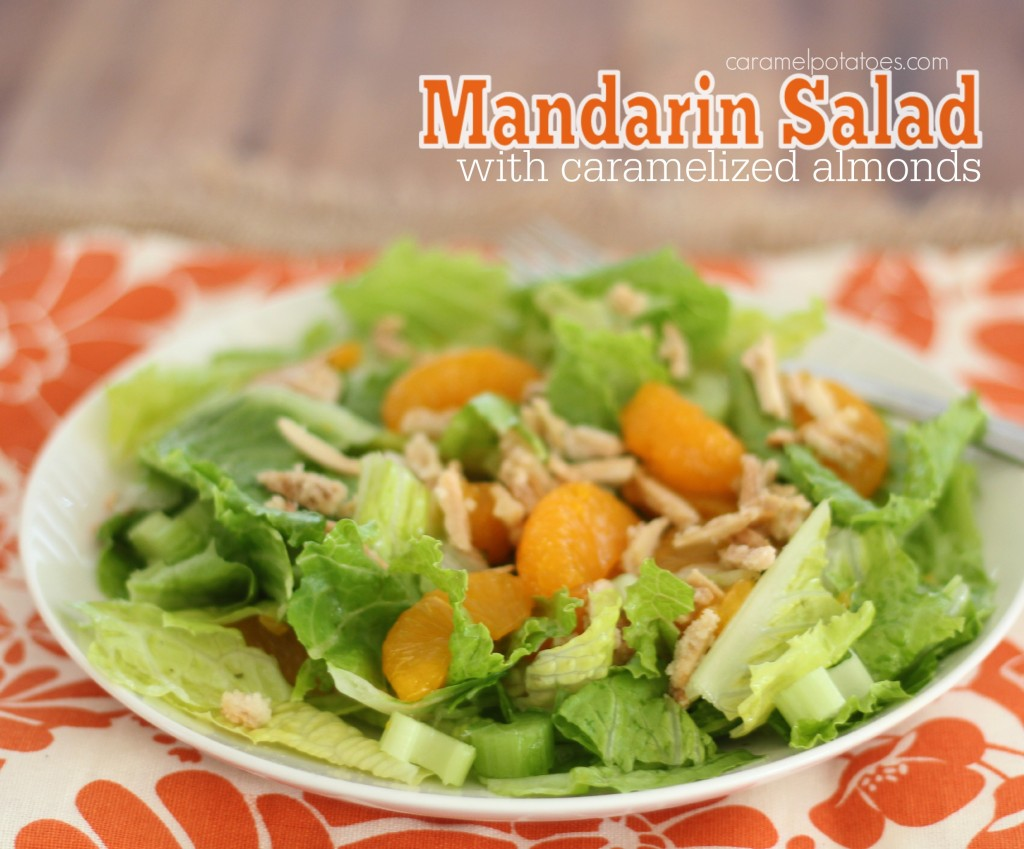 Mandarin Salad with Caramelized Almonds