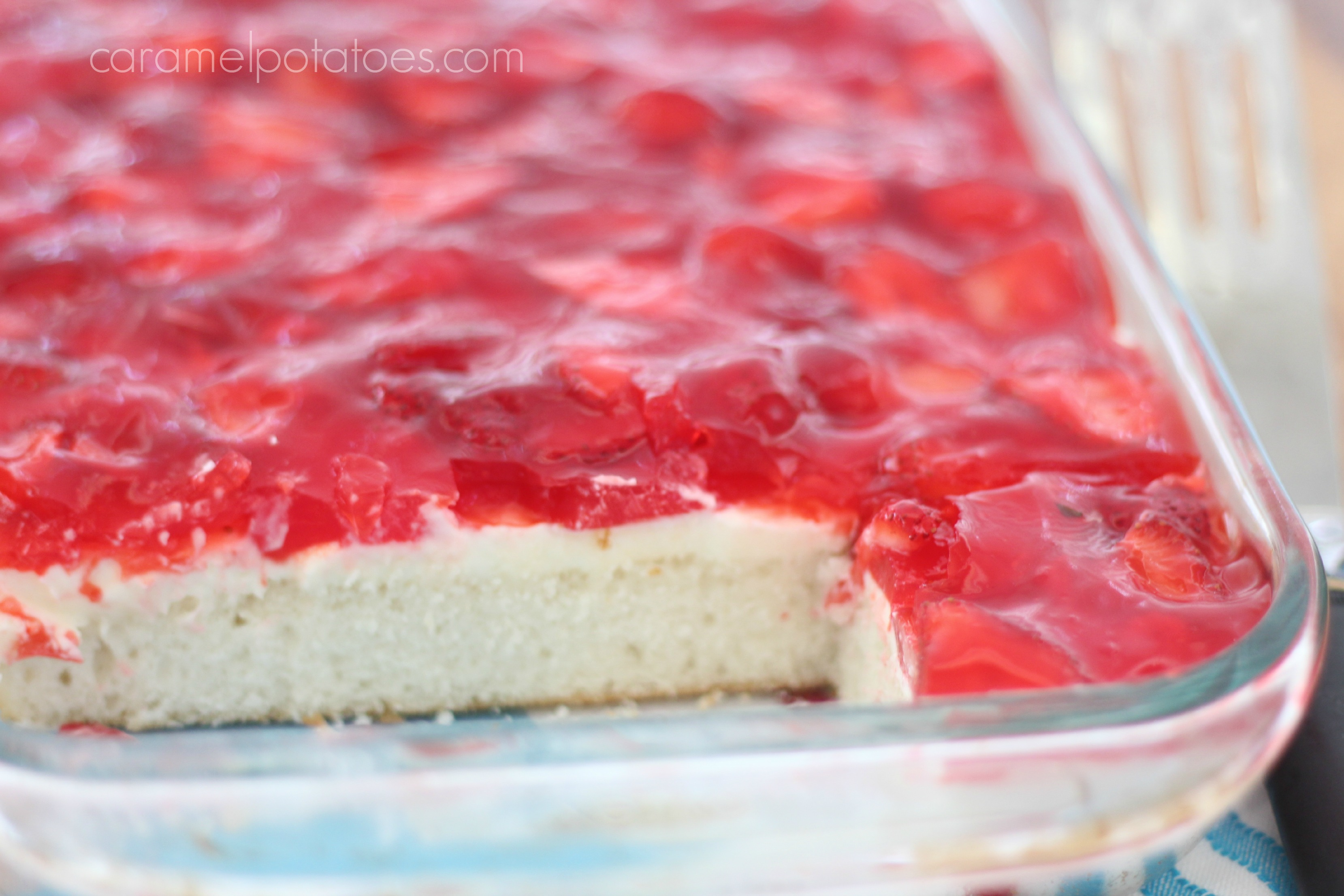 Dessert Made With Angel Food Cake Mix Strawberry Jello