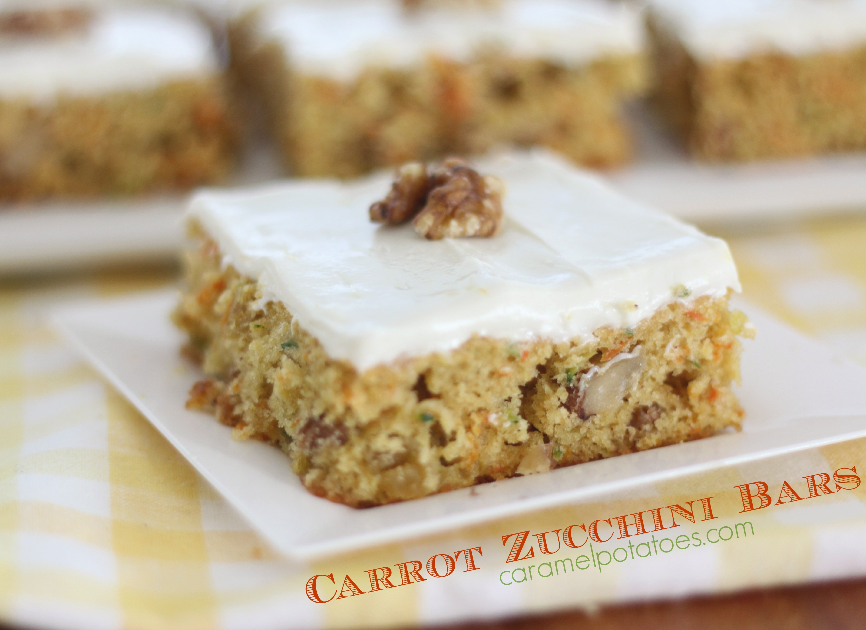 carrot and zucchini bars carrot zucchini bars with carrot and zucchini ...