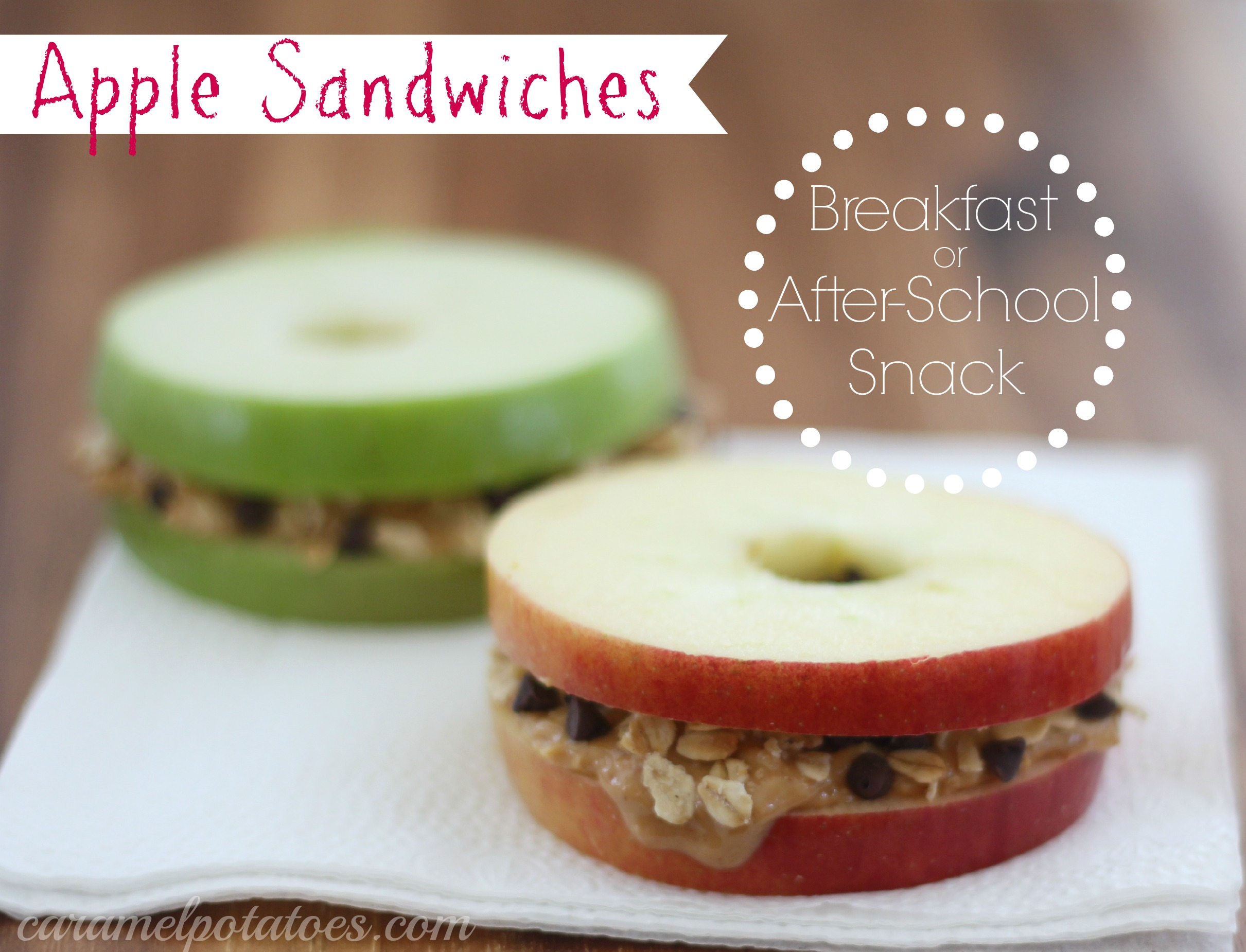 Apple Sandwiches Recipe — Dishmaps