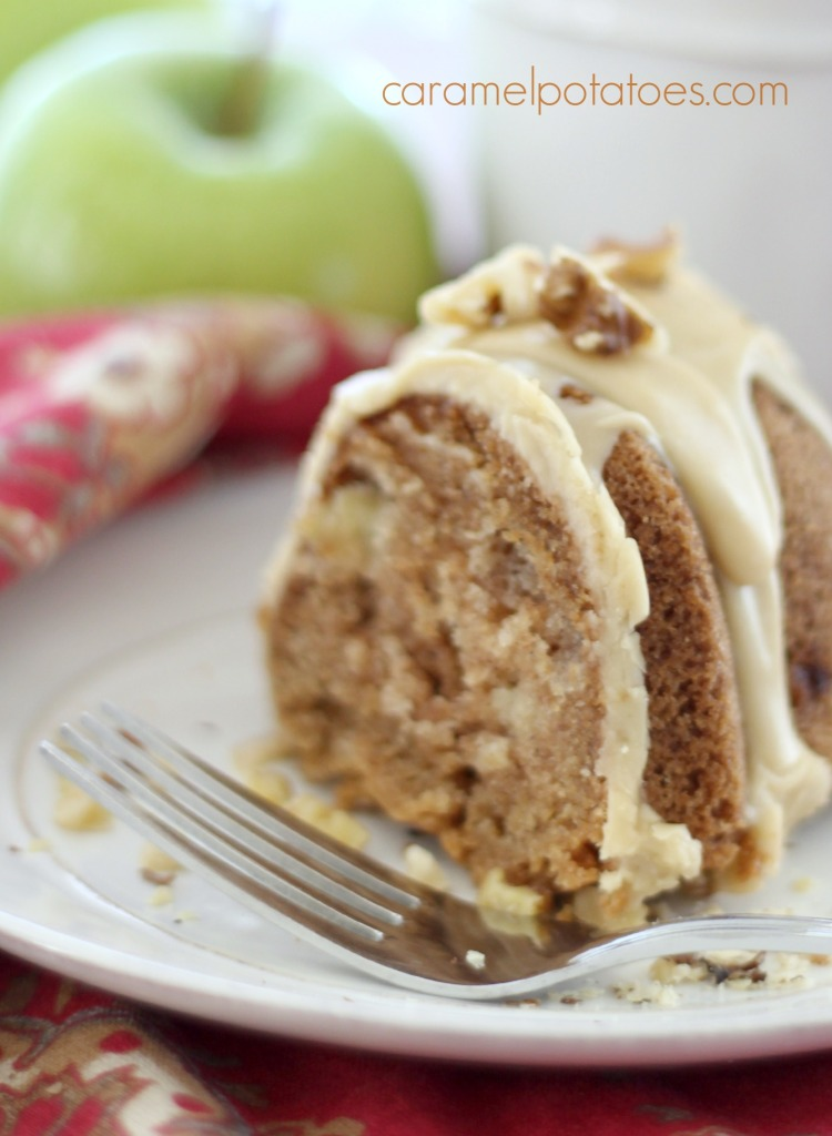 Caramel Apple Cake From Mix