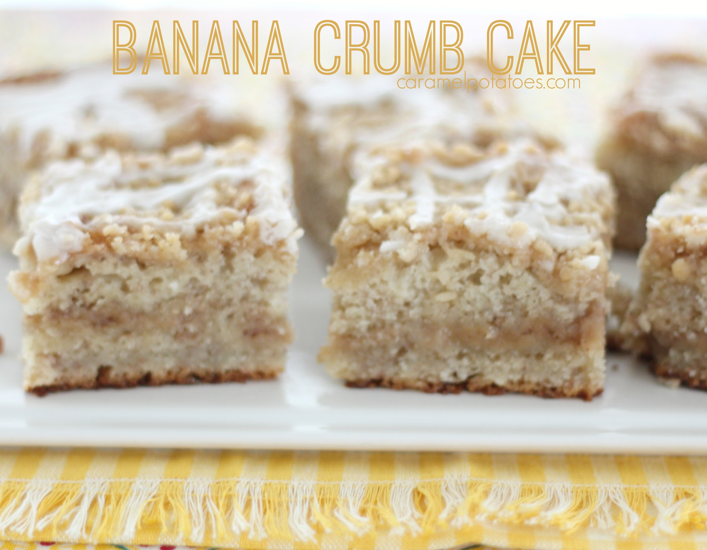 Banana Crumb Cake With Cake Mix