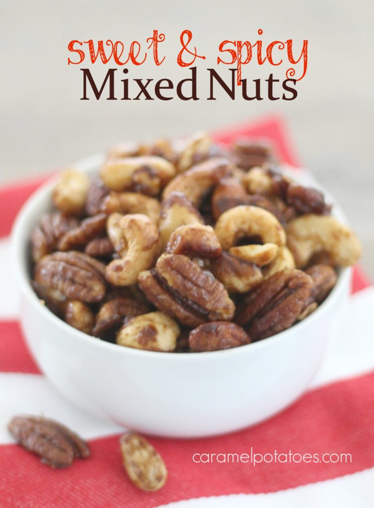 Caramel Potatoes » Sweet and Spicy Mixed Nuts